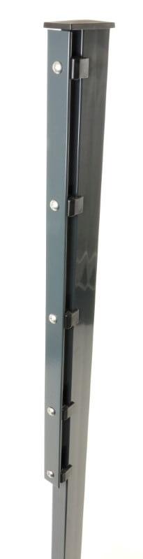 70mm Pfostentr/äger 600mm Einschlagh/ülse Bodenh/ülse Holz-pfosten Holz-Zaun-Pfahl kurze Ausf/ührung f/ür harte B/öden